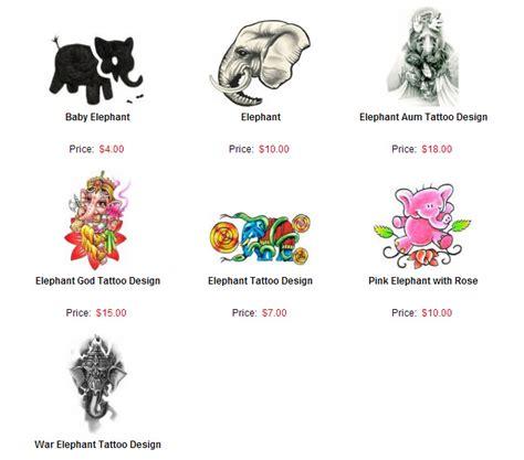 meaning of an elephant tattoo from bullseyetattoos elephant tattoos