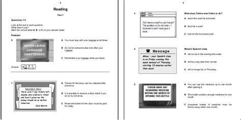 test inglese b1 gratis c 243 mo aprobar el reading examen de cambridge b1 pet 1