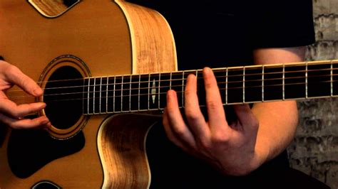 how to play acoustic guitar how to play everlong by the foo fighters on guitar