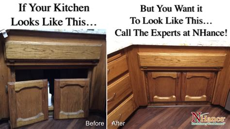 kitchen cabinet refacing calgary renew your kitchen cabinets nhance count on us for calgary kitchen cabinet refinishing