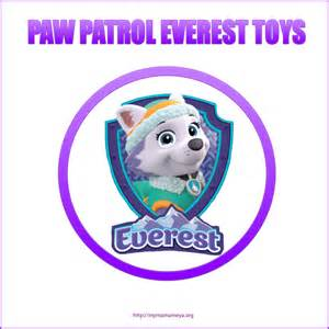 Paw patrol everest toys
