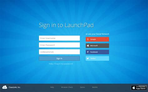 Www Login Home Page L by Launchpad Extension Chrome Web Store