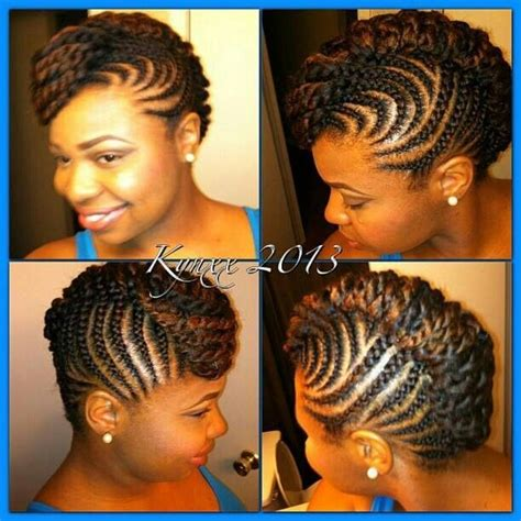 braided pinup hairstyles braided updo twist hairstyle protective hairstyle