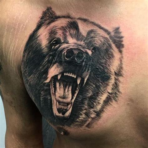 stunning grizzly bear tattoo ideas the wild tattoo 2017