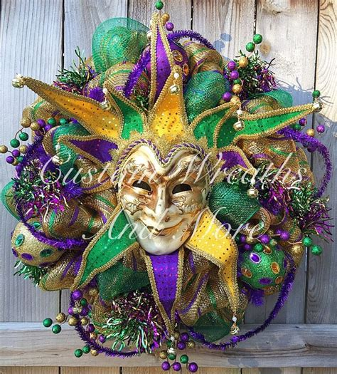 customized mardi gras 669 best mesh wreaths images on deco mesh