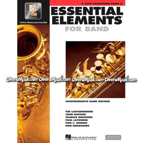 libro music stage ii essential elements for band saxof 243 n alto libro 2 olvera music