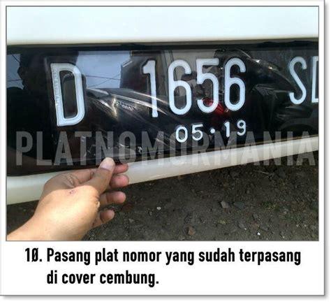 Acrylic Plat Nomor panduan pemasangan cover plat nomor acrylic cembung pada mobil platnomormania