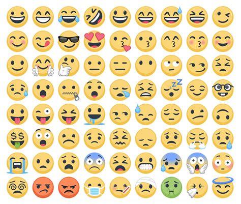 imagenes de todos los emoji conozcan a los nuevos emoji de facebook
