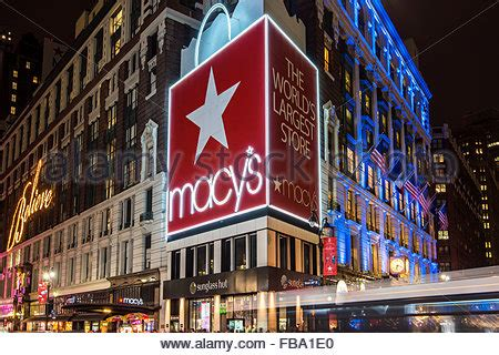 christmas store usa shopping at macy s department store midtown manhattan new stock photo royalty free