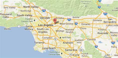 map of los angeles area los angeles beaches map quotes
