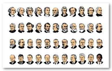 Presidents With 5 Letter Last Names