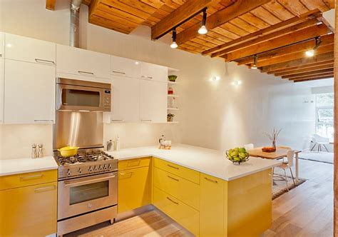 modern kitchen with red cabinets decoist kitchen cabinets the 9 most popular colors to pick from