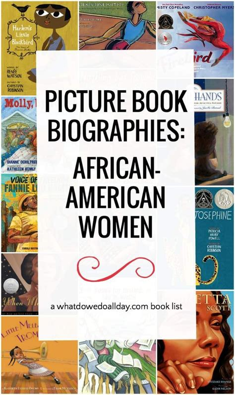 picture book biographies picture book biographies about american