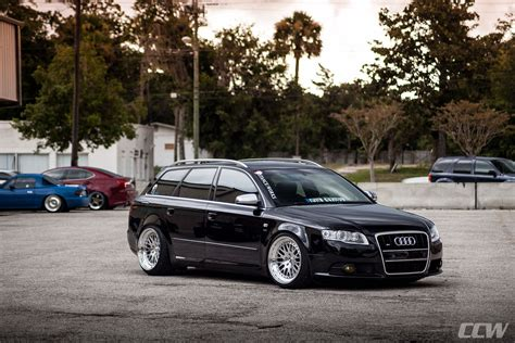 audi wagon black black audi s4 avant wagon ccw polished 3