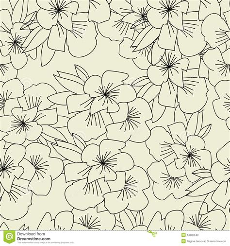 seamless pattern template seamless pattern with flowers royalty free stock images