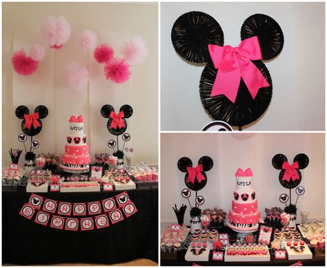 party themes minnie mouse minnie mouse party decorations party favors ideas