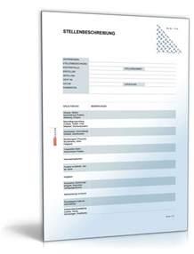 Kompetenzprofil Bewerbung Erstellen Stellenbeschreibung Blanko Formular Vorlage Zum