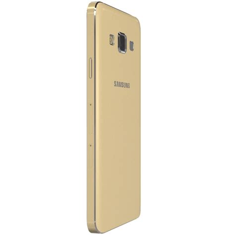 Hp Samsung A3 Gold samsung galaxy a3 for element 3d