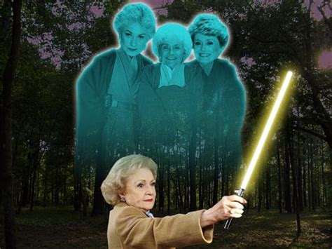 Where Did The Golden Girls Live by Golden Girls Reimagined As Jedi Warriors With Betty White