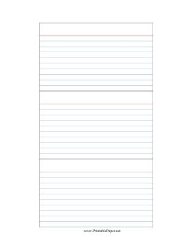 Printable Index Cards Freepsychiclovereadings Com Notecard Template
