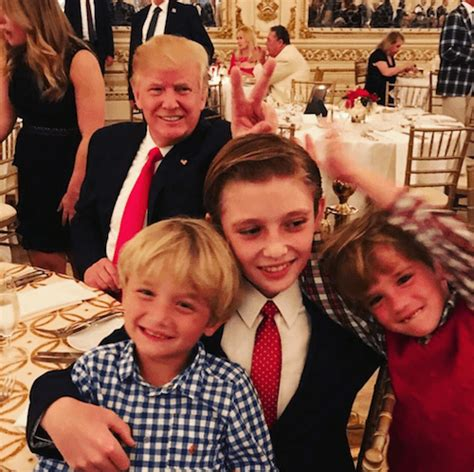 donald trump grandchildren photos of donald trump with his kids reveal what he s like
