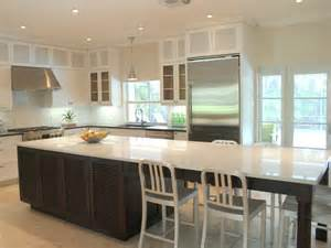 How To Design A Kitchen Island With Seating 20 Kitchen Island With Seating Ideas Home Dreamy