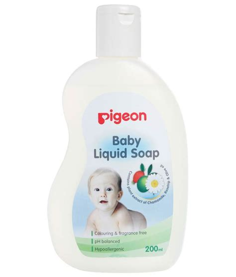 pigeon baby liquid soap 200ml buy pigeon baby liquid