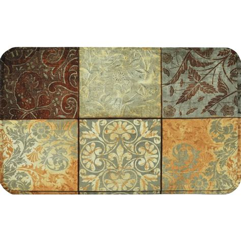 chef rugs for kitchen home dynamix calm chef 19 6 in x 31 5 in anti fatigue kitchen mat 5 cmc34 the home depot