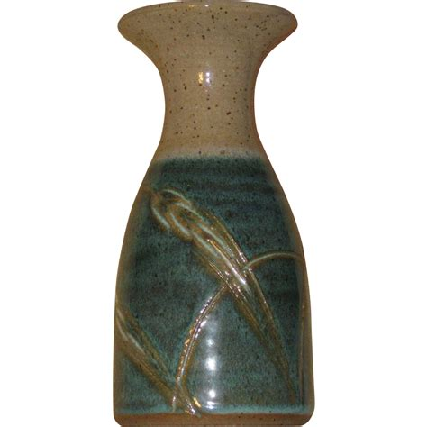 Decorative Sand For Vases by Pottery Vase Turquoise Aqua Sand Color Dune Grass