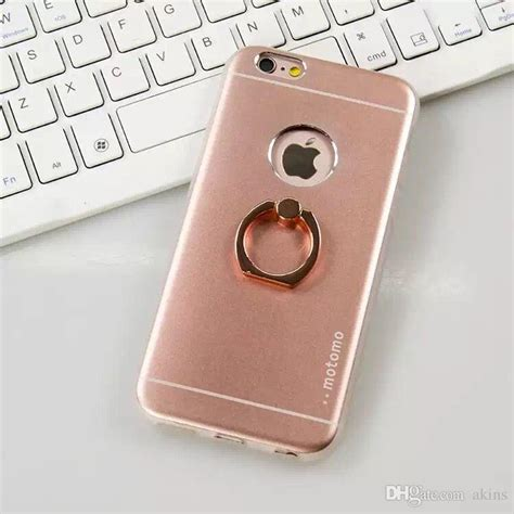 Motomo Metal Samsung Galaxy A5 Gold Hybrid Series hybrid tpu with metal ring holder back mobile covers for samsung a5 a7 a8 finger ring