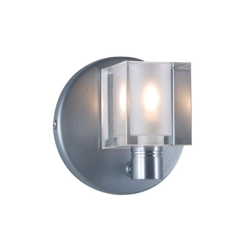 Low Voltage Wall Sconce jesco lighting 1 light low voltage companion wall sconce with cube ws292 cr the home depot