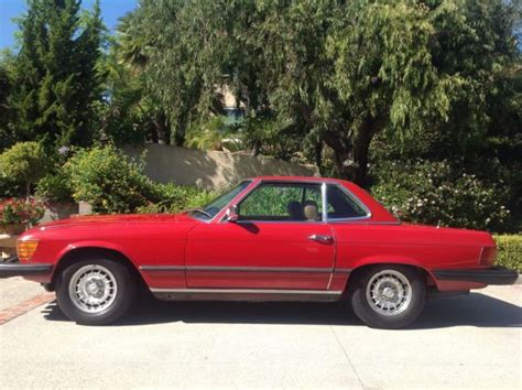 1980 mercedes 450sl southern california time capsule with