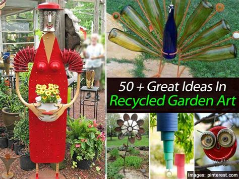 Recycling Ideas For The Garden 50 Great Ideas In Recycled Garden Garden Gardens Recycling Ideas And