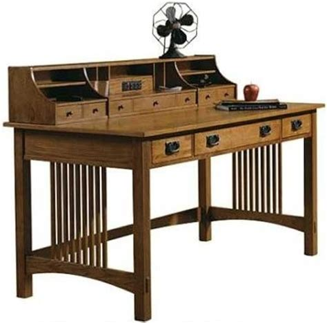 hekman arts crafts writing desk cool pinterest