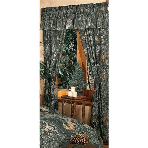 mossy oak curtains camouflage curtains mossy oak new break up camo valance