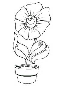 flower pot coloring page flower pot coloring page coloring pages