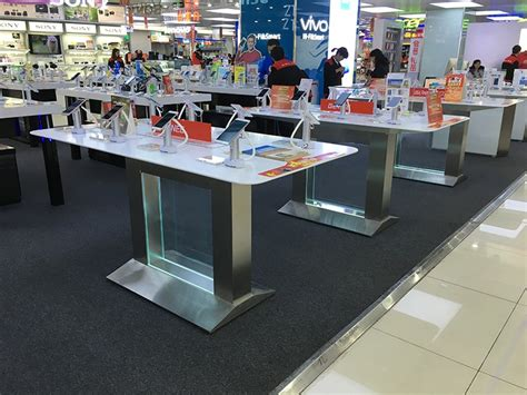micromax mobile store 2016 sale cell phone retail display table for huawei