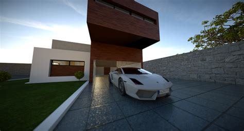 blender 3d tutorial architecture blender architecture exterior home