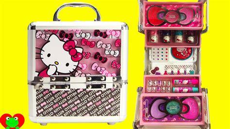 hello kitty cosmetics kids makeup set with nail polish and
