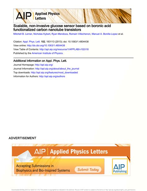 applied physics letters format applied physics letters template docoments ojazlink