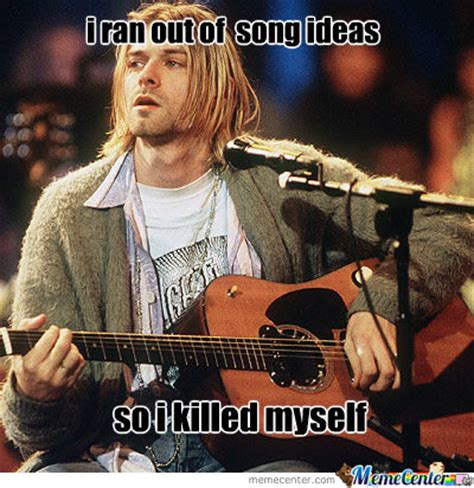 Kurt Meme - kurt cobain by jkk meme center