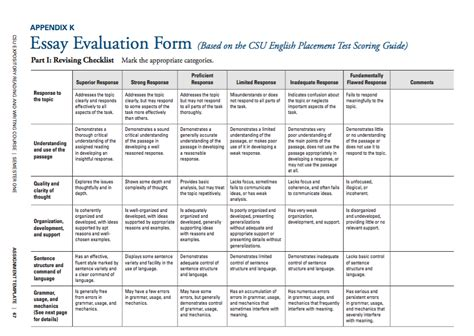 Social Science Research Paper Rubric by 5 Paragraph Thesis Rubric