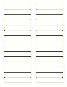 label template 16 per page 3 7 16 x 2 3 filing labels file folder labels blank