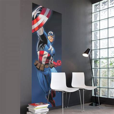 Marvel Wall Murals 12 inspiring ways to bring captain america the winter