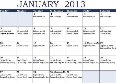Ivf Pregnancy Calendar Wishing On A Snowflake My Fet Calendar