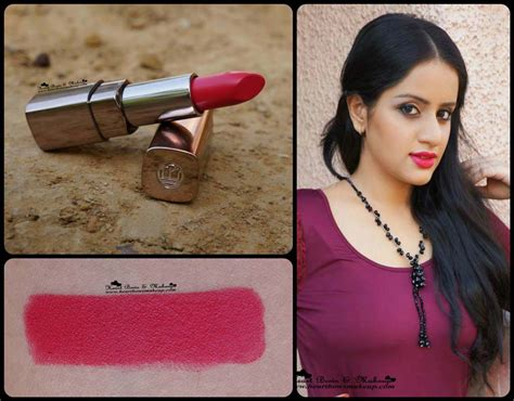 Raspberry Coloured L Shades by L Oreal Color Riche Moist Matte Raspberry Syrup Lipstick Review Swatches Mac All Fired Up