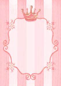 princess crown invitation template princess crown invitation template themesflip