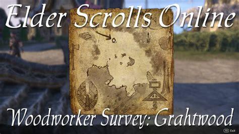 elder scrolls woodworking woodworker survey grahtwood elder scrolls eso