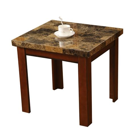 faux marble sofa table faux marble end tables home furniture design
