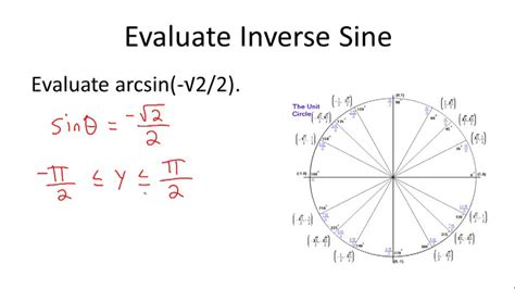 calculator arcsin definition of the inverse of trigonometric ratios ck 12